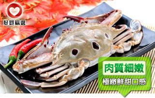 鮮凍飽滿三點蟹